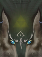 Wolf Link by Niboe