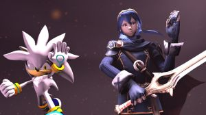 Lucina and Silver, Warriors from a Ruined Future by Hesei-Pikmin