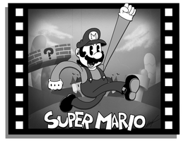 Super Mario in: ''Plumber's Plight''. by GSVProductions