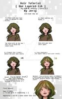 [ TUTORIAL ] - How I color hair in PaintToolSai by Jerlyy