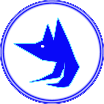 Wolf Logo by TheSaiyanSketcher34