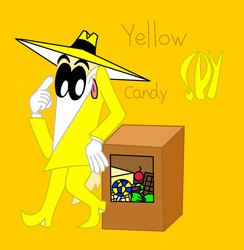 Yellow Spy by Sonic12Lexi
