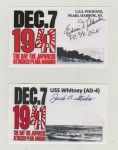 Pearl Harbour Signature Cards by wildelf34