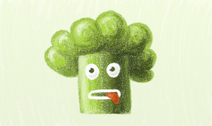 Broccoli Guy by azzza