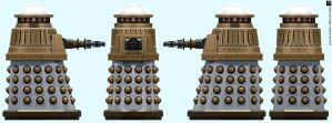 Imperial Special Weapons Dalek by Librarian-bot