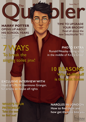 Harry Potter on The Quibbler by fridouw