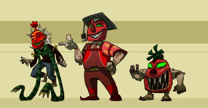 Villains by Lizzieknight