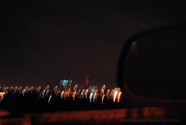 jumping city ligts by Neviral