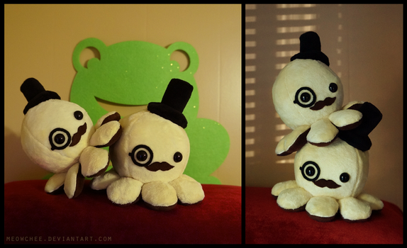 Sir Choco-Banana Octoplushies by Meowchee