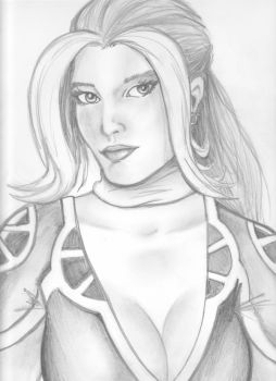Rogue bust 060910 by Justin1592
