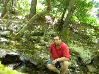 Me at Ikaria in a forest by kailor