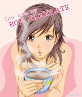 you are my hot chocolate by AOey