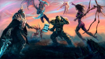 Heroes of the Storm by Omar-Atef