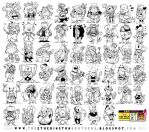 52 CHARACTER DESIGNS! by STUDIOBLINKTWICE