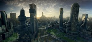 City Design 1 by Datamonkey-ultima