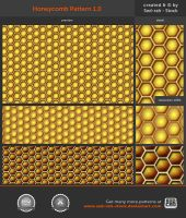 Honeycomb Pattern 1.0 by Sed-rah-Stock