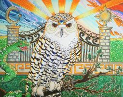 Owl of Guidance by soulexposed