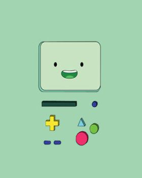 BMO IPhone Wallpaper by FlorchuuGomezBieber