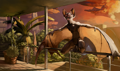 Most recent commission! by plaguedaemon