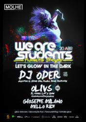 We Are Students Let's Glow In The Dark by BK1LL3R