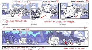 Storyboard Sample By Scratchmark-d5r1890 by scratchmark