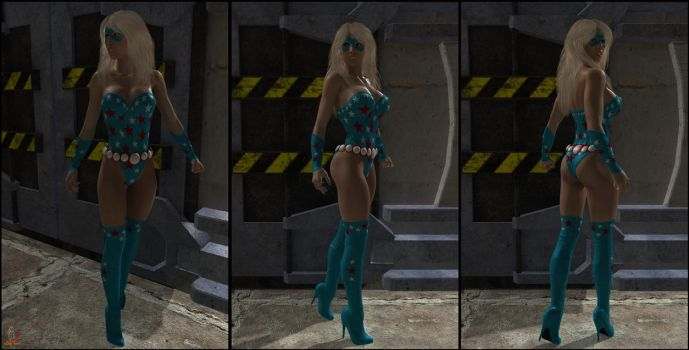 Lady Liberty's New Costume by ladytania