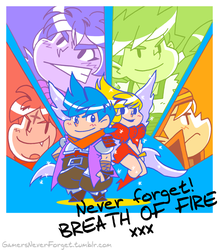 Gamers, never forget! #2: Breath of Fire by vincentbatignole