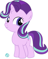 Filly Starlight Glimmer vector by arifproject