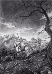 The watch on Darkwood Forest by ElConsigliere
