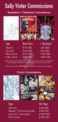 Updated Commissions Guide 09/18 by SallyVinter