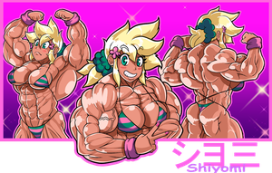 Shiyomi In Contest Shape by MGChaser
