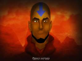 Avatar Aang by Ahmed-Rashad-Art