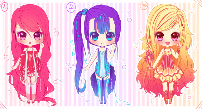 [Closed Adopts] Colorful Coral by Hyanna-Natsu