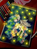 Princess Celestia by Zefir-ka
