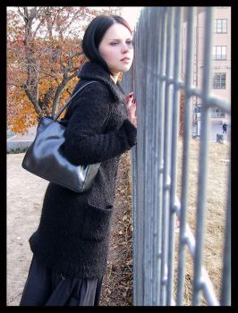 suzi9mm and the fence by sininen