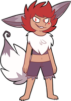 Anger Eevee by pupom