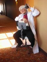 Dr. Stein Cosplay by LikasAshes