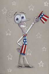 Yankee Doodle Fear-y by Creative-Dreamr