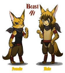 Reverse game stereotype design - Beast by spidercandy