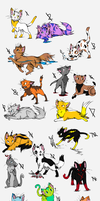 26 Cat Adoptables!!!!!!!!!!!!! ~ CLOSED!!!!!!!! by Wild-adopt