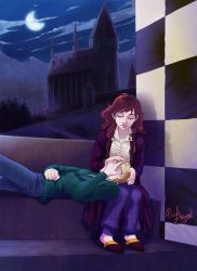 Console you_Rose x Scorpius by mary-dreams