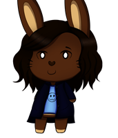 Me in Animal Crossing by Rainbowphin