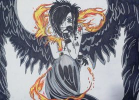 Andy Six, The Fire Angel by kittykatc666