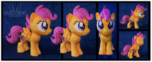 Scootaloo Custom Plush by Nazegoreng