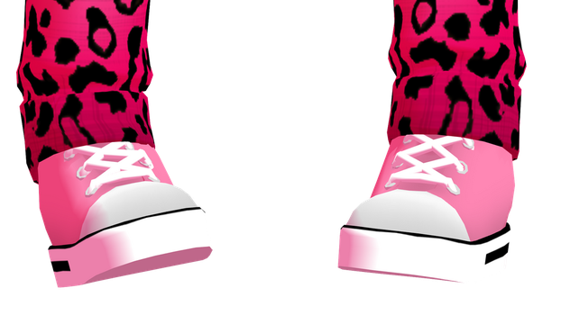 MMD Sneakers DL by 2234083174