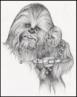 Chewbacca by doodlingdruid