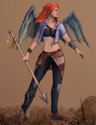 Angel by Abstractivity-Art