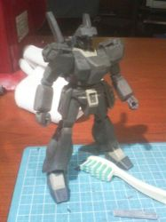 HGUC 1/144 Jegan ECOAS ver. WIP by raipo
