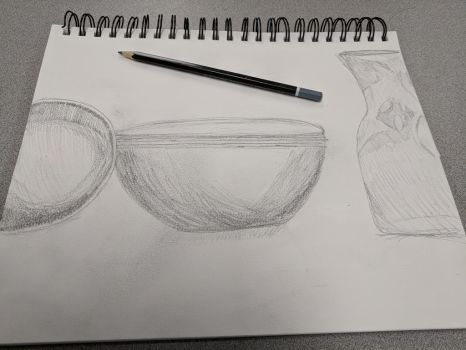 Still Life Drawing #1 by FruitScoot