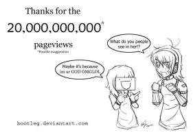 Happy 20,000 views to meee. by Bootleg